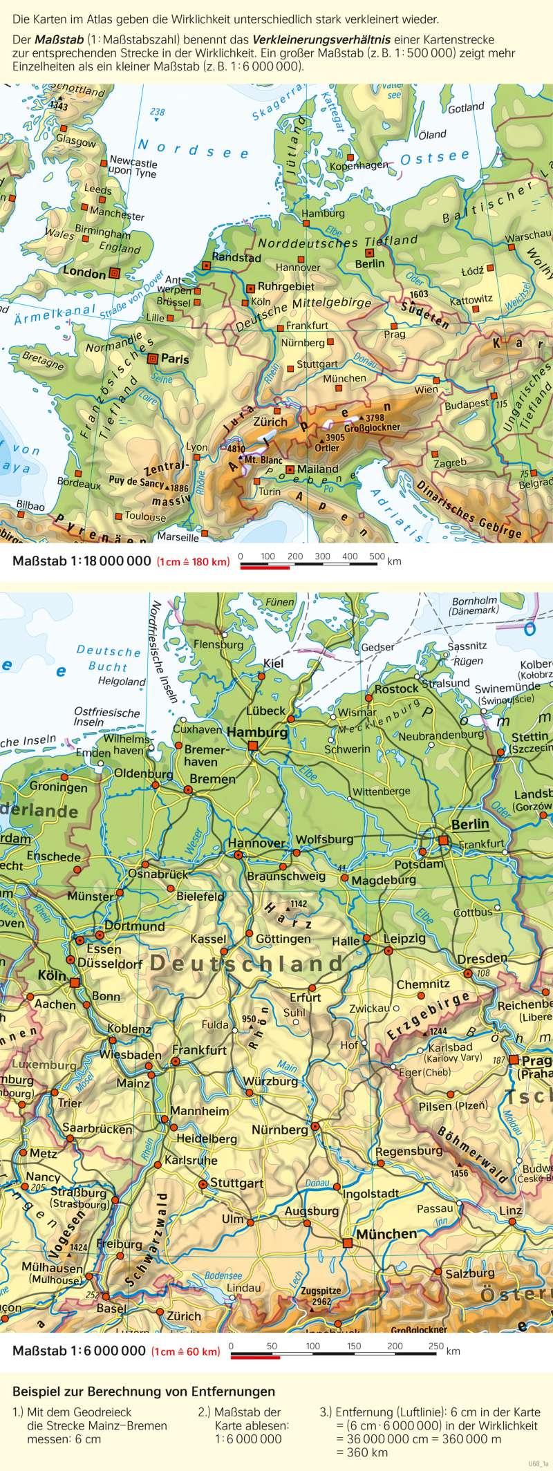 Deutschland |  | Deutschland - Orientierung | Karte 50/1