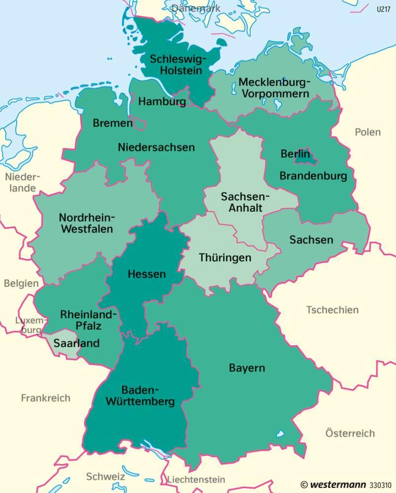 Deutschland | Migration insgesamt | Deutschland | Karte 77/10