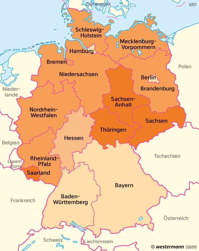 Deutschland | Sterberate | Deutschland | Karte 76/2