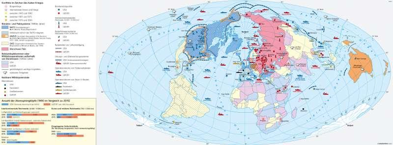 Erde | Das Zeitalter des Kalten Krieges (1949–1989) | Erde | Karte 30/2
