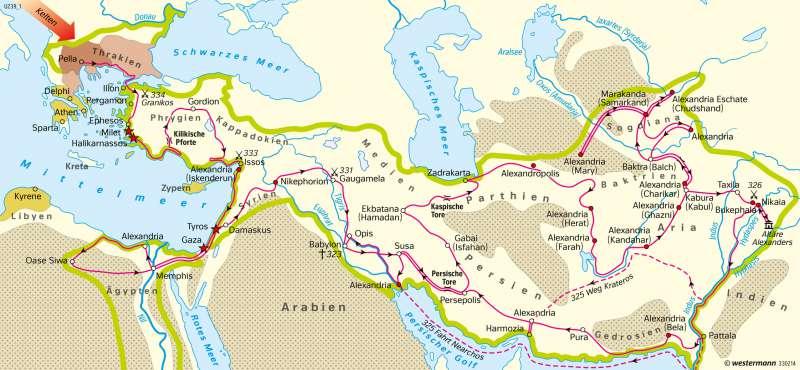 persien karte Diercke Weltatlas   Kartenansicht   Persien   Der Feldzug