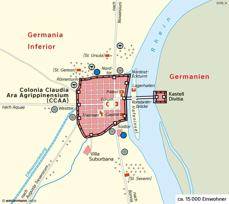 Köln | Stadtentwicklung | Deutschland | Karte 74/3