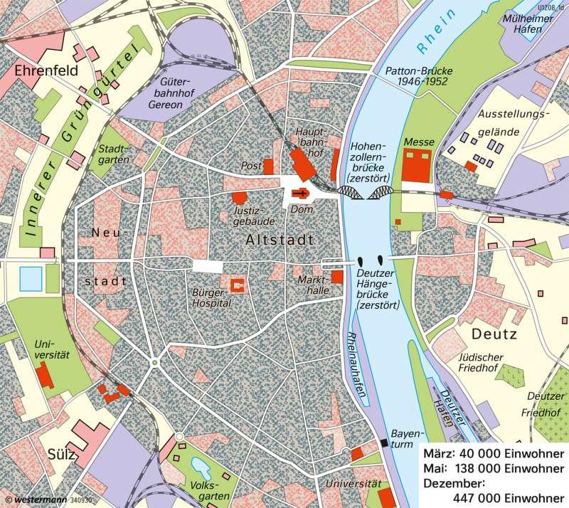 Köln   Stadtentwicklung   Deutschland   Karte 75/3