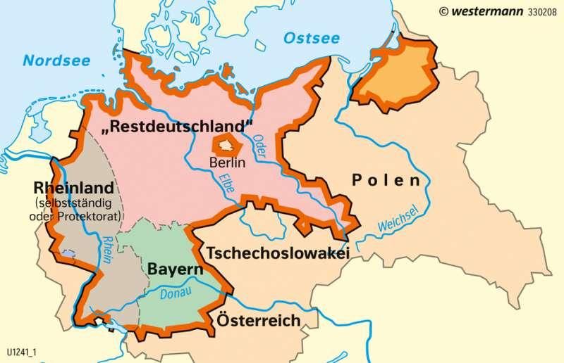Kalter Krieg Karte.Diercke Weltatlas Kartenansicht Deutschland Teilungspläne Der