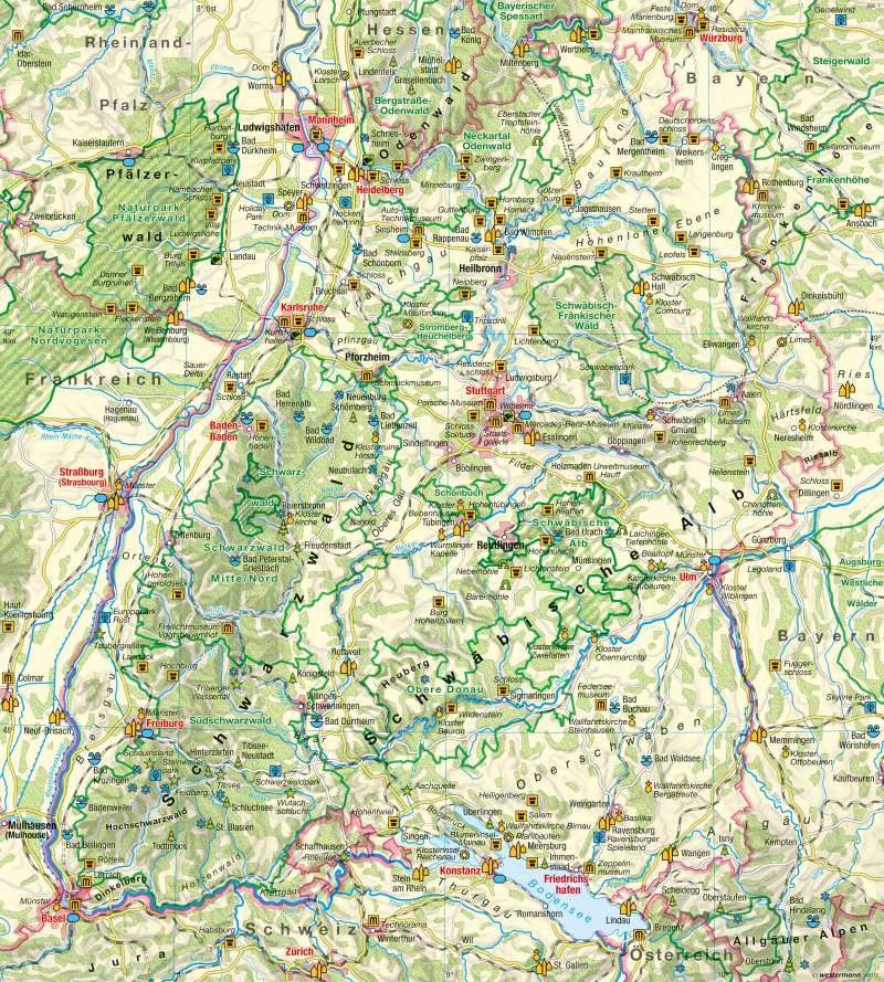| Tourismus | Tourismus | Karte 19/2