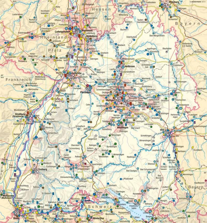 | Wirtschaft und Verkehr | Wirtschaft und Verkehr | Karte 18/1