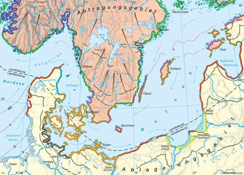 Diercke Weltatlas Kartenansicht Nord Und Ostsee