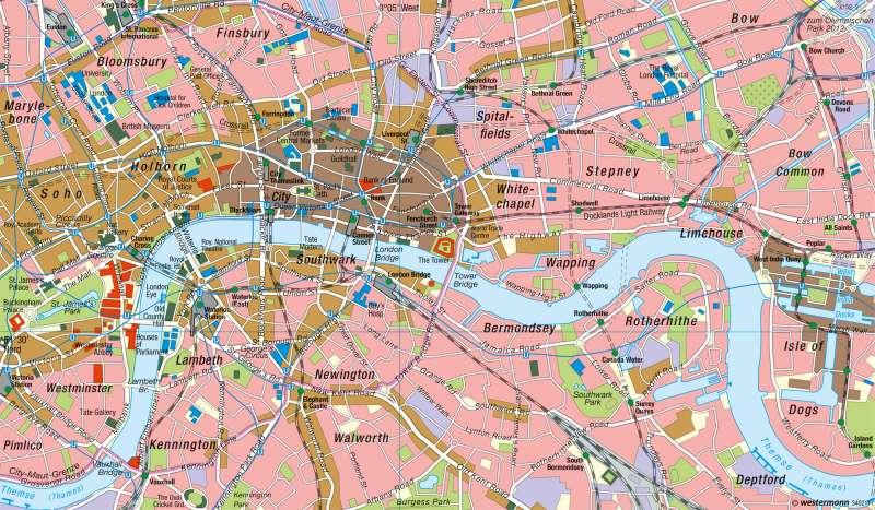 London | Innenstadt |  | Karte 81/3
