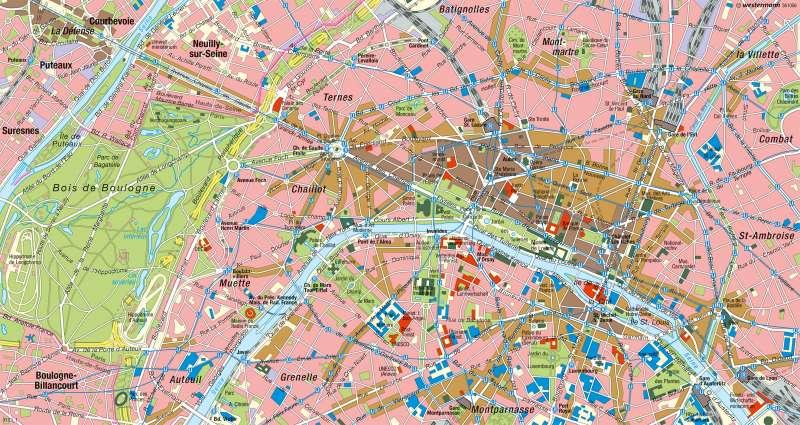 Paris Zentrum Karte