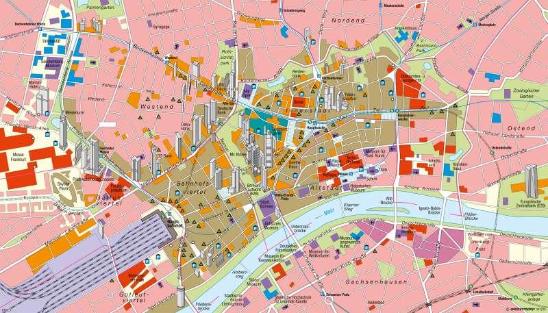 karte frankfurt Diercke Weltatlas   Kartenansicht   Frankfurt am Main