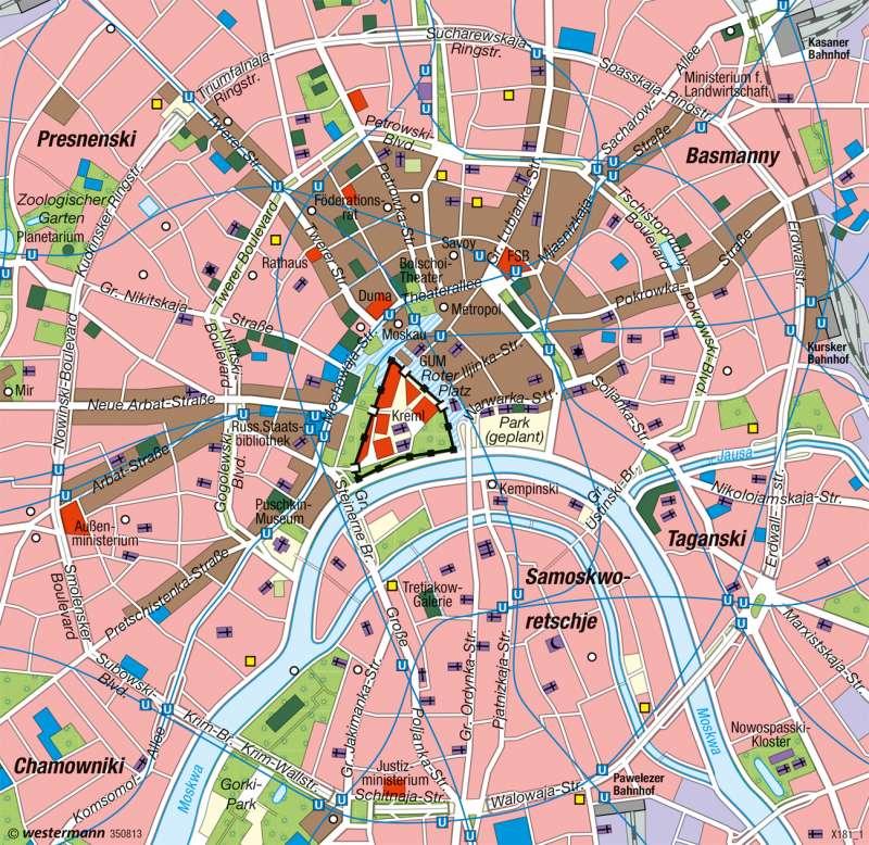 Moskau | Innenstadt |  | Karte 95/4