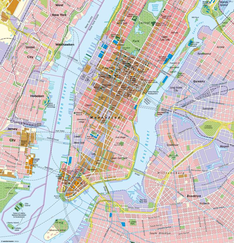 New York   Manhattan   USA   Karte 224/3