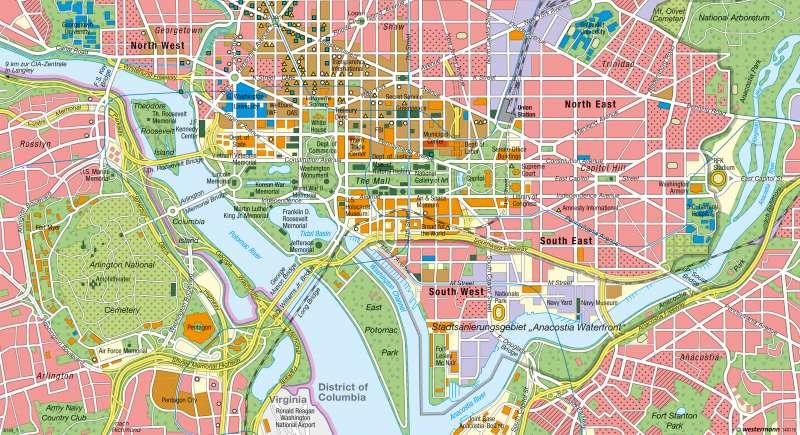 Washington D.C. | Machtzentrum | Global Cities | Karte 155/4