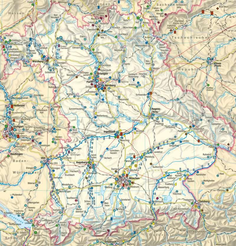Bayern | Wirtschaft und Verkehr | Wirtschaft und Verkehr | Karte 20/1