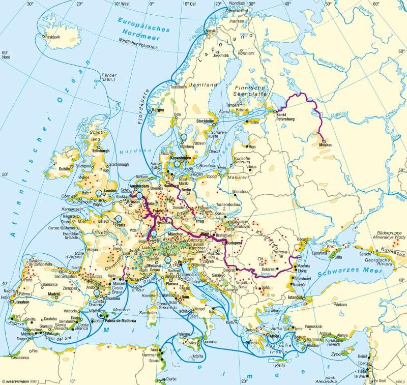 Europa   Tourismus   Tourismus   Karte 65/3