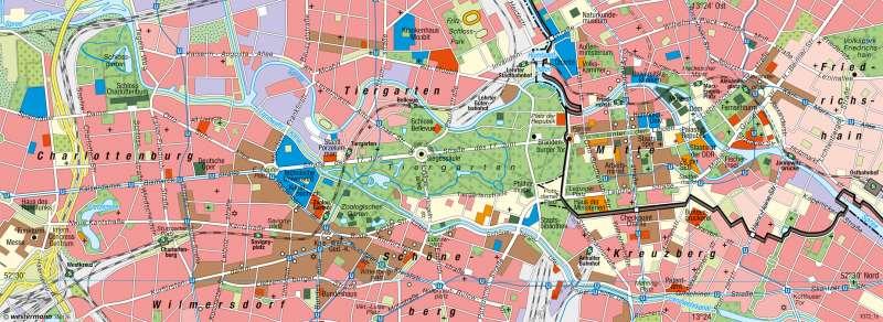 Berlin | Innenstadt | Hauptstadt Berlin | Karte 39/3