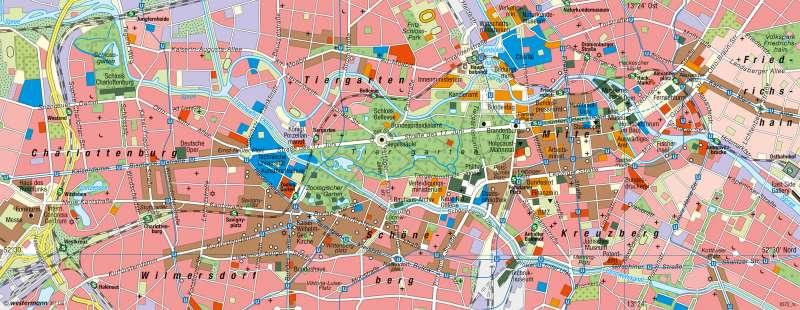 Berlin | Innenstadt | Dienstleistungsmetropole | Karte 41/3
