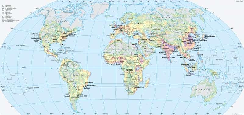 Karte Erde.Diercke Weltatlas Kartenansicht Erde Bevölkerungsverteilung