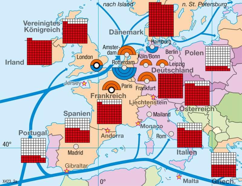 Diercke Weltatlas - Kartenansicht - - Globalisierte Wirtschaft - 978 ...
