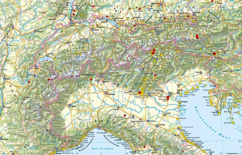 Alpen | Tourismus | Alpen - Tourismus und Umwelt | Karte 116/1