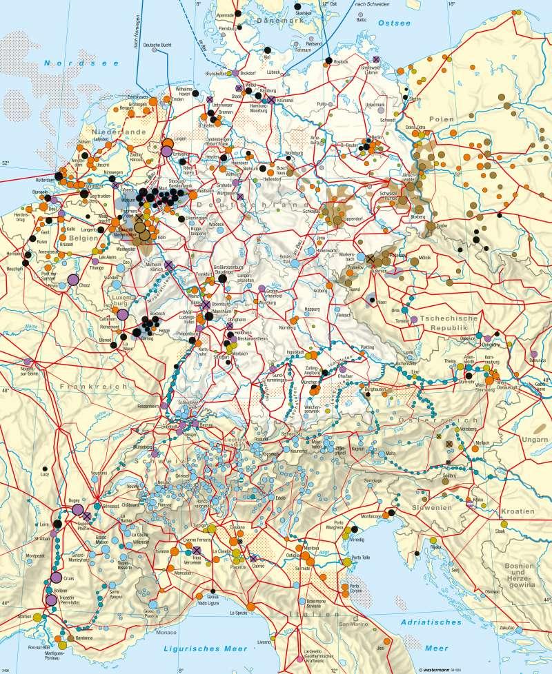 Diercke Weltatlas Kartenansicht Deutschland Und Nachbarlander