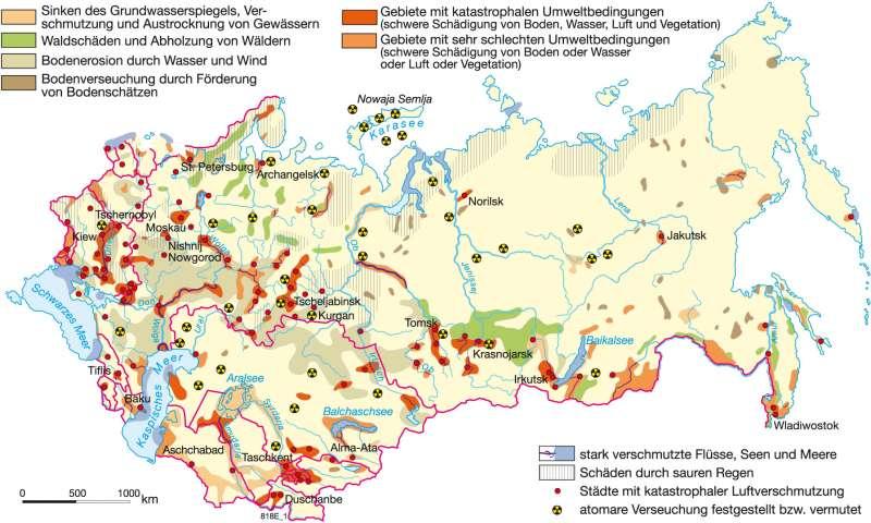 Tschernobyl Karte.Diercke Weltatlas Kartenansicht Tschernobyl Folgen Eines