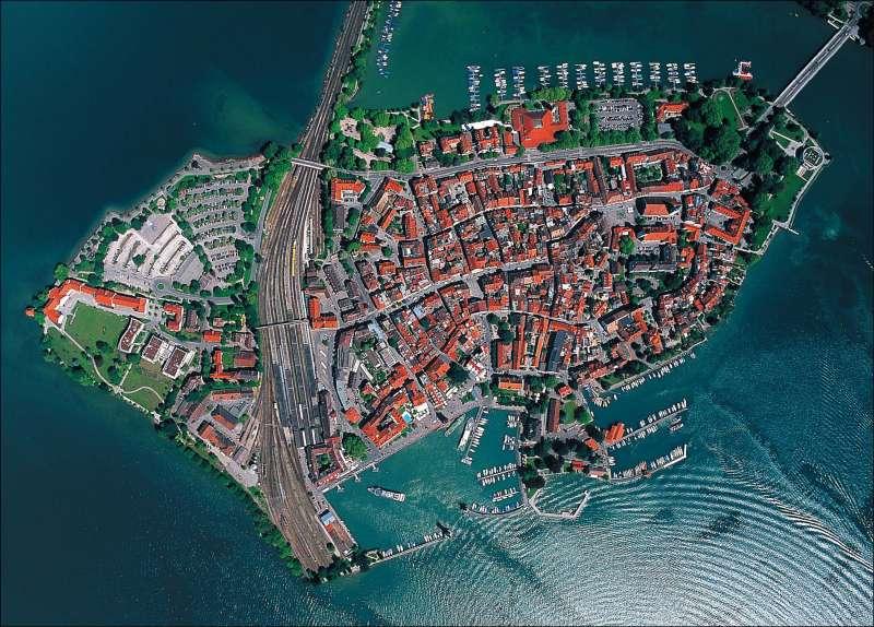 Diercke Weltatlas Kartenansicht Lindau Luftbild 978 3 14