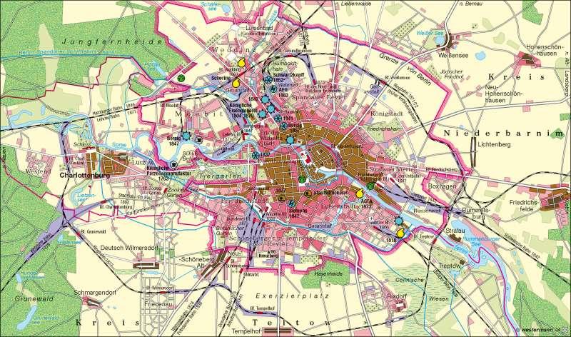 Berlin 1840-1880 |  | Berlin | Karte 34/1