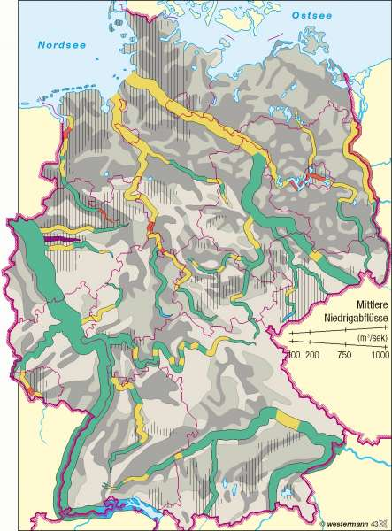 Gewässergüte/Grundwassergefährdung |  | Deutschland - Umwelt | Karte 59/4