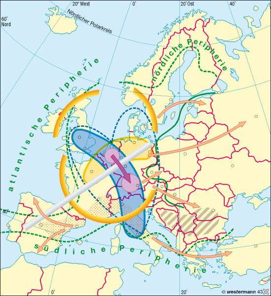 Diercke Weltatlas - Kartenansicht - Europa - wirtschaftliche ...