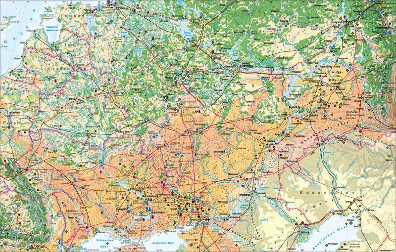 Osteuropa   Wirtschaft   Osteuropa – Wirtschaft   Karte 84/1