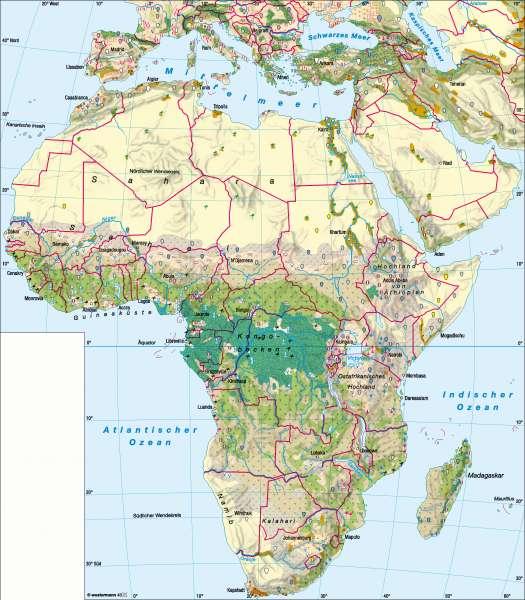 Afrika | Landwirtschaft | Afrika – Landwirtschaft | Karte 135/5