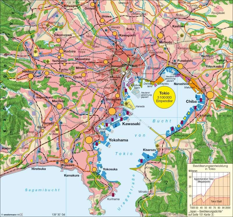 Tokio | Megalopolis | Japan | Karte 176/1