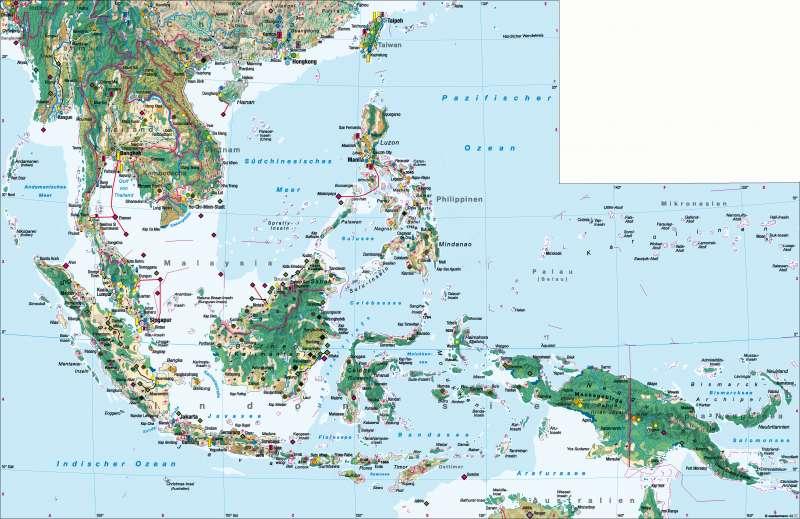 Südostasien | Wirtschaft | Südostasien - Wirtschaft | Karte 180/1