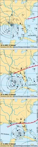 Hurrikan Katrina |  | Vereinigte Staaten von Amerika (USA)/Kanada - physisch | Karte 197/2