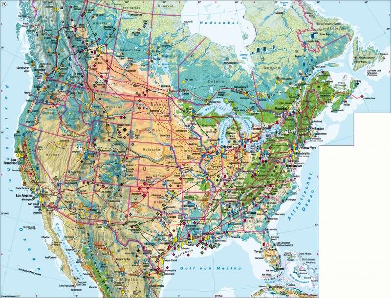 Amerika Karte Staaten.Diercke Weltatlas Kartenansicht Vereinigte Staaten Von