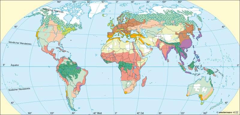 Agrarregionen |  | Erde - reale Vegetation/Landnutzung | Karte 239/3