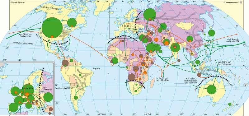 Migration |  | Erde - Kultur/Migration | Karte 254/2