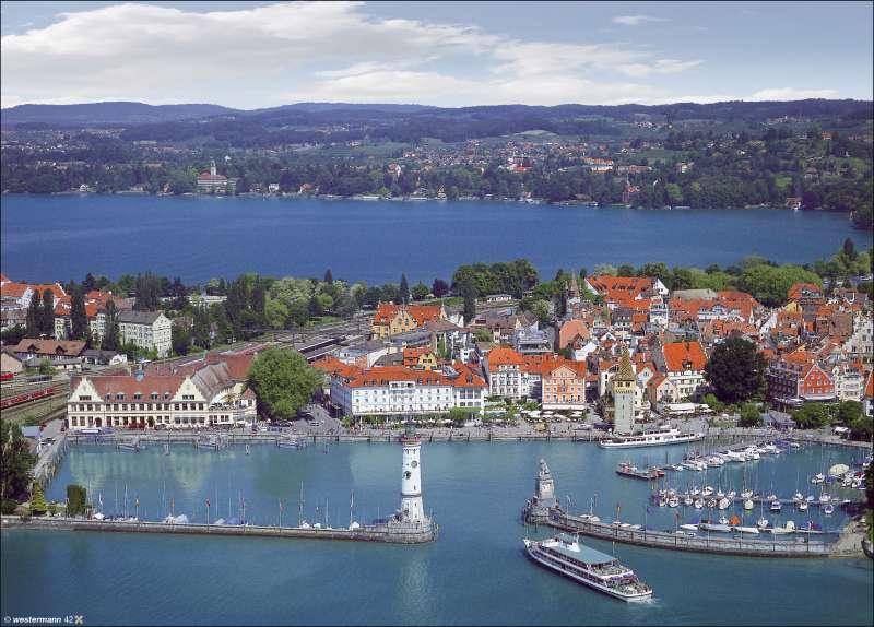 Lindau | Luftbild | Vom Bild zur Karte | Karte 8/1