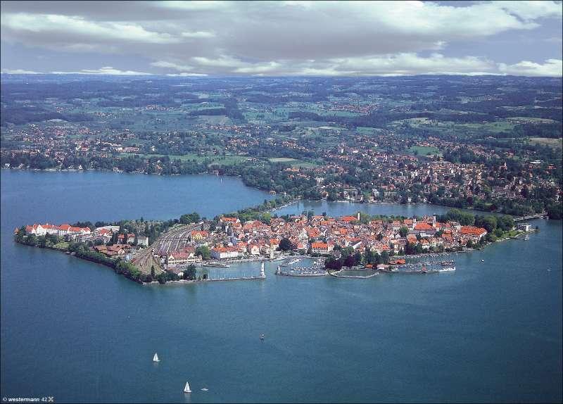 Lindau | Luftbild | Vom Bild zur Karte | Karte 8/2