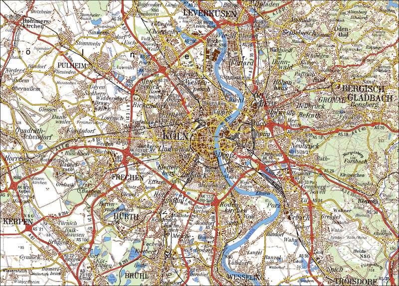 Amtliche Topographische Übersichtskarte |  | Kartentypen | Karte 10/2