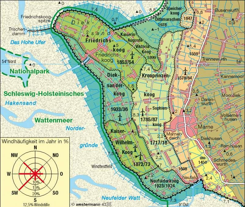 Landgewinnung/Küstenschutz |  | Küstenlandschaften/Küstenformen | Karte 24/3