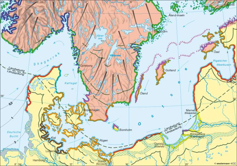Küstenformen |  | Küstenlandschaften/Küstenformen | Karte 25/1