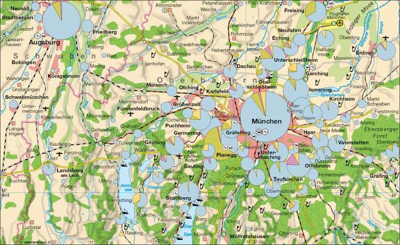 München   Hightech-Standorte   München   Karte 35/1