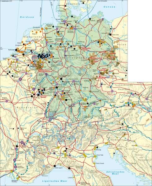 gasleitungen deutschland karte Diercke Weltatlas   Kartenansicht   Deutschland