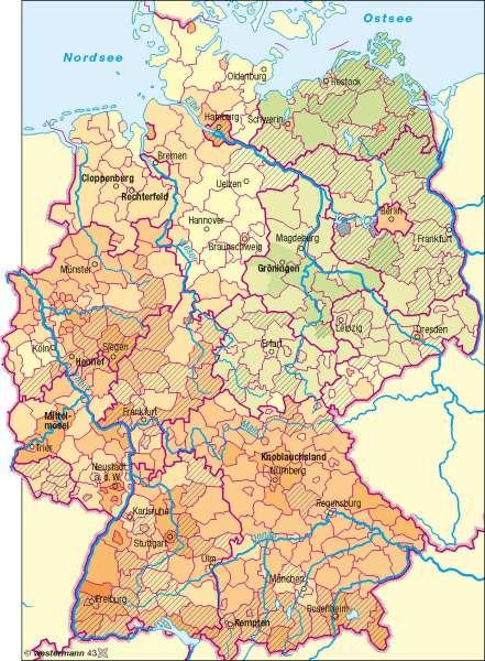 Diercke Weltatlas Kartenansicht Betriebsgrossenstruktur In Der