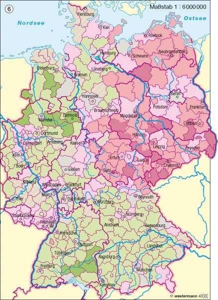 Altersstruktur 2020      Deutschland – Bevölkerung   Karte 57/7