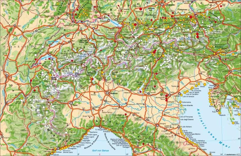 Tourismus |  | Alpen – Tourismus und Umwelt | Karte 78/1
