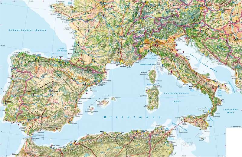 Südwesteuropa | Wirtschaft | Südwesteuropa – Wirtschaft | Karte 88/1