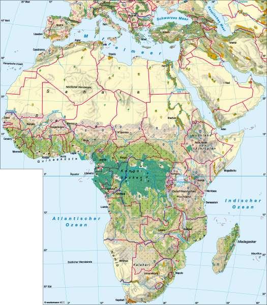 Afrika   Landwirtschaft   Afrika – Landwirtschaft   Karte 103/1